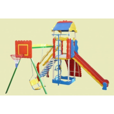Детский металлический комплекс Черепаха