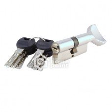 Цилиндр дверной APECS 4KC-M80(45/35)Z-C01-CR