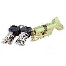 Цилиндр дверной APECS 4KC-M80(45/35)Z-C01-G